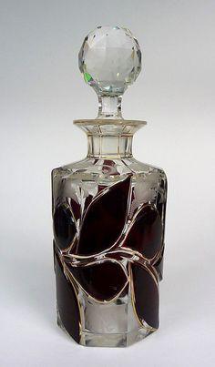 Bottle Moser ? Deep cut um 1900 #Markenlos