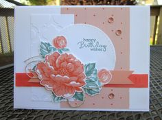 Stamp With Sandy: Stippled Blossom Birthday Wishes, CCMC34 & MOJO359