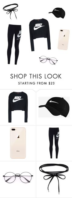 """""""Tumblr Girl"""" by drzonowska on Polyvore featuring moda i NIKE"""