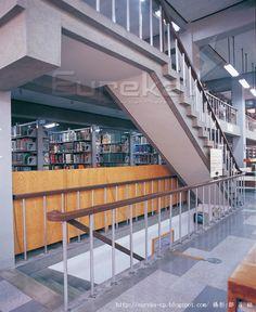 2006《久違了,王大閎先生!》建築回顧展 台大法學院圖書館樓梯