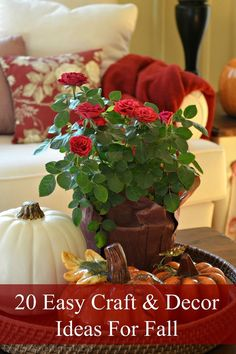 20 Easy Craft And Decor Ideas For Fall