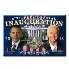 2013 57th Presidential Inauguration PresidenRefrigerator Magnet