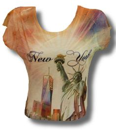 Ladies Sol/Tower Tee - USA