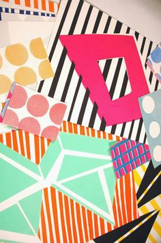 Sunny Todd geometric designs #patterns http://www.sunnytoddprints.co.uk/index.php