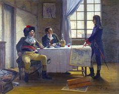 Bonaparte at the siege of Toulon, 1793: