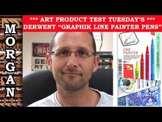 Derwent Graphik Line Painters Review