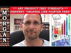 Derwent Graphik Line Painters Review Painting Fur, Feather Painting, Painting Videos, Painting Tutorials, Pastel Pencils, Marker Art, Wildlife Art, Animal Paintings, Creative Art