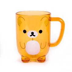 Rilakkuma plastic drinking cup. so cute! Available at Magic Pony.