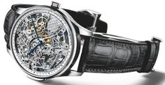 Gorgeous ... IWC Portuguese Minute Repeater Squelette (Skeleton) Limited Edition (2004)