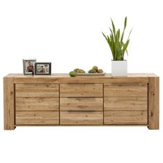 awesome sideboard kommode anrichte tren schubladen in wildeiche massiv gelt with sideboard eiche massiv gelt
