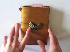 Midori Traveler's Notebook passport size as my wallet
