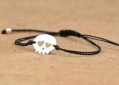 Totenkopf-armband
