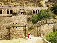 Bhangarh Fort in Alwar, Rajasthan.
