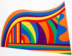 Arcs and Bands in Color by Sol LeWitt: