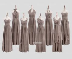convertible bridesmaid dresses, long bridesmaid dresses, chiffon bridesmaid dresses, mismatched bridesmaid dress, cheap bridesmaid dresses, 16331