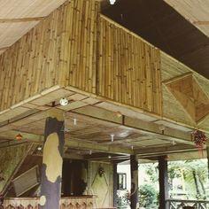 Bahay kubo nipa hut Bahay Kubo, Bamboo Construction, Bamboo Architecture, Bamboo House, Bamboo Design, Polenta, Tiny House, Modern Design, Pergola