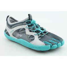 Fila Skele-Toes Bay Runner Womens Running Shoe in Castlerock/Ceramic/Vapor Blue