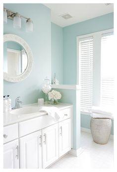 Kid Bathroom Decor, Girl Bathrooms, Master Bedroom Bathroom, Beach Bathrooms, Bathroom Ideas, Bathroom Makeovers, Bathroom Remodeling, Aqua Bathroom, Design Bathroom