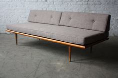 Assured Mid Century Modern Daybed Sofa (U.S.A., 1960s) by Kinzco, via Flickr pinned from kinzco
