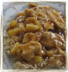 Mennonite Girls Can Cook: Pineapple Chicken Rice - Gluten Free - The Pineapple chicken is delish but check out how she cooks her rice. I comes out perfect every time!!