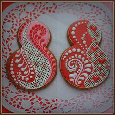 """Купить """"Point style"""" прянички-восьмерки к женскому празднику - розовый, козули, пряники, печенье, восьмерка"""