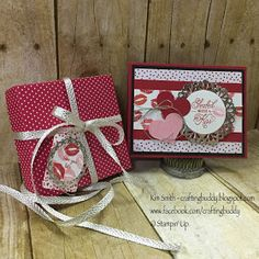 """Welcome to the Stampin Friends Blog Hop! This month's theme is """"Love"""". If you're  following along the hop, you've arrived from Me..."""