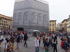 #Florence monumentale: la cathédrale, la coupole et le clocher. #Battistero Blog Voyage, Tuscany, Louvre, Street View, Building, Travel, Italia, Florence, Museums