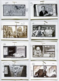 A Single Page From The Borley Rectory Storyboard  The Latest