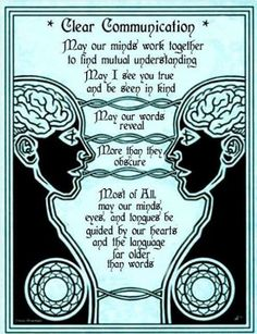 Prayer for Clear Communication. Not into magic at all but need to be reminded about speech that reveals more than it obscures. Magick Spells, Witchcraft, Wiccan, Soul Healing, Chakra Healing, Religion Wicca, Clear Communication, Effective Communication, Meditation