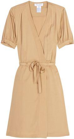 Paul & Joe Ss Wrap Dress Mid Length in