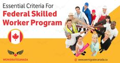 Federal skilled worker program focuses on attracting young skilled workers to Canada who in length contribute to the economic development in the country. Federal Skilled Worker, Economic Development, Programming, How To Apply, Profile, Draw, Number, Education, Create