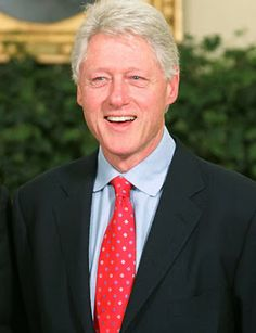 wonderful famous people : Former USA President Bill Clinton Biography
