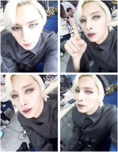 Minsu with his contacts in^.^