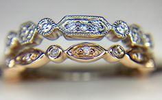 DIAMOND STACKABLE RINGS @cobymadisonjewelry  15710 Whittwood Lane #whittier  #Ca  #shoplocal #shopsmall #shopwhittier #uptownwhittier #stackablerings #diamondrings #ringoftheday #orangecounty #oc #lamirada #lahabra #jewelry #sayyes #hinthint #haciendaheights #friendlyhills #weddingring #weddingband #eternityring #promisering #rings Stackable Diamond Rings, Stacking Rings, Eternity Ring, Promise Rings, Wedding Bands, Oc, Metal, Jewelry, Commitment Rings