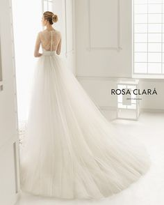 """Style """"Duero"""" Now Available at L'amour Bridal. Visit www.lamourbridalmi.com"""