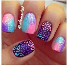 really liking the black neon colored cheetah print might give it a try ;)