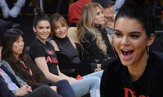 Hailey Baldwin and Kendall Jenner watch Jordan Clarkson's LA Lakers | Daily Mail Online
