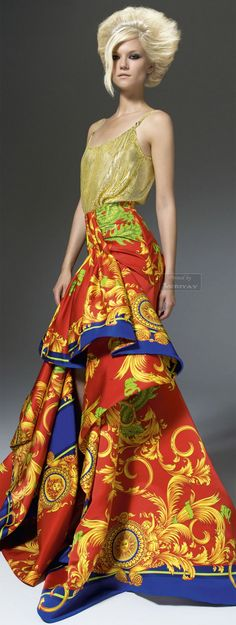 :loving this Versace printed loveliness: