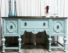 Heirloom by Fusion Mineral Paint. A beautiful update! Repainting Furniture, Chalk Paint Furniture, Refurbished Furniture, Find Furniture, Repurposed Furniture, Furniture Making, Furniture Makeover, Furniture Ideas, Furniture Inspiration