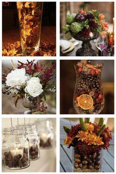décoration mariage d'automne