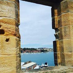 Not a bad #view to wake up to every morning... peccato che questa sia la vista dalla vecchia  prigione di @cockatooisland  #cockatooisland #sydneylocal #diariodalmondo