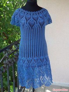 Ниточки yarn art violet 5351 Ушло не полных 6 моточков на 48 размер Схемки додаю но кое что меняла под себя