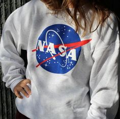 White Star Print Long Sleeves Cozy Sweater