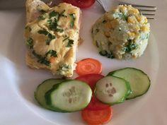 Sajtos csirkemell, kukoricás karfiolrizzsel   szorin receptje - Cookpad receptek