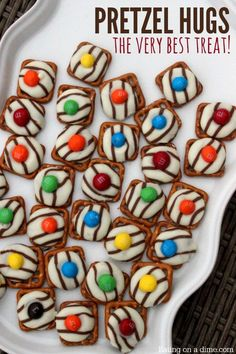 These are the best pretzel Kisses. This pretzel treat is the best of sweet and salty. Of all the pretzel snacks these pretzel hugs are my favorite.