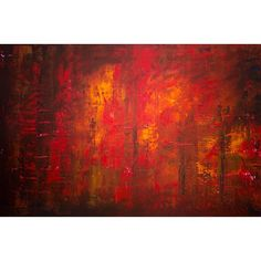 Title: 'FOREST FIRE' Size: 40 x 60 x Medium: acrylic on hand-stretched cotton canvas Illustration Rouge, Red Artwork, Fire Painting, Black Abstract, Online Painting, Impressionist, Cotton Canvas, Framed Prints, Instagram Posts