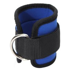 Ankle Strap D-ring Sport Gym Fitness Attachment Thigh Leg Pulley Weight Lifting
