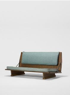 sold by Wright Auction. Frank Lloyd Wright / bench from the Unitarian Church, Madison