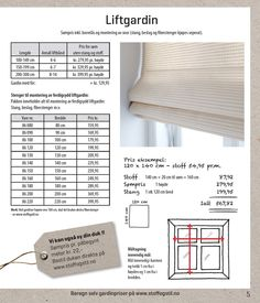Liftgardin - Stoff & Stil Diy, House, Summer, Summer Time, Bricolage, Home, Haus, Summer Recipes, Handyman Projects