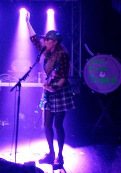Ting Tings at Bristol Thekla on 24 November 2014. Support from Zed Ted.